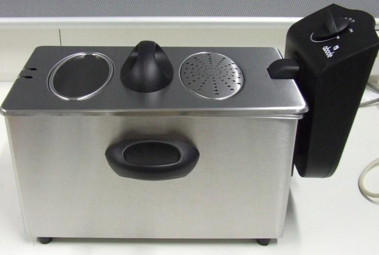 Picture of the Abode 3L Stainless Steel Deep Fryer