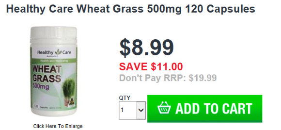 Image from Chemist Warehouse website