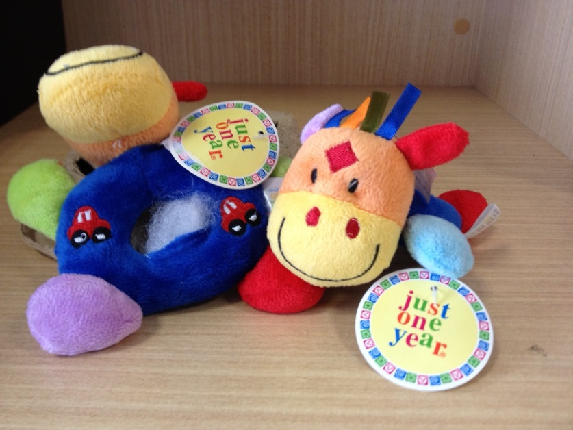 Just One Year plush toy