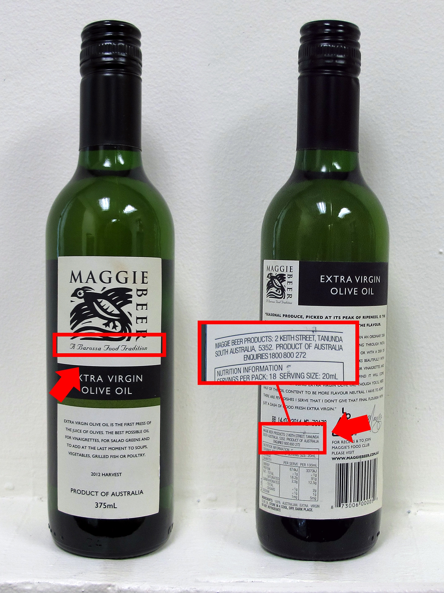 Maggie Beer Products Extra Virgin Olive Oil