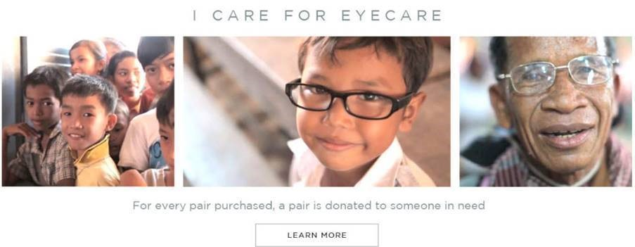 For every pair purchased, a pair is donated to someone in need - Oscar Wylee marketing claim