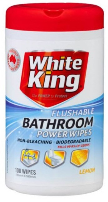 White King Bathroom Wipes
