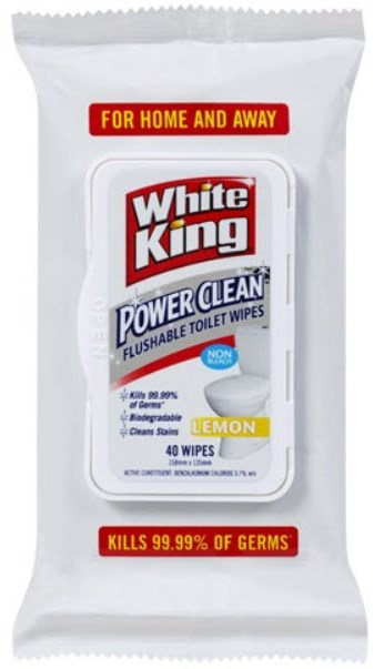 White King Toilet Wipes