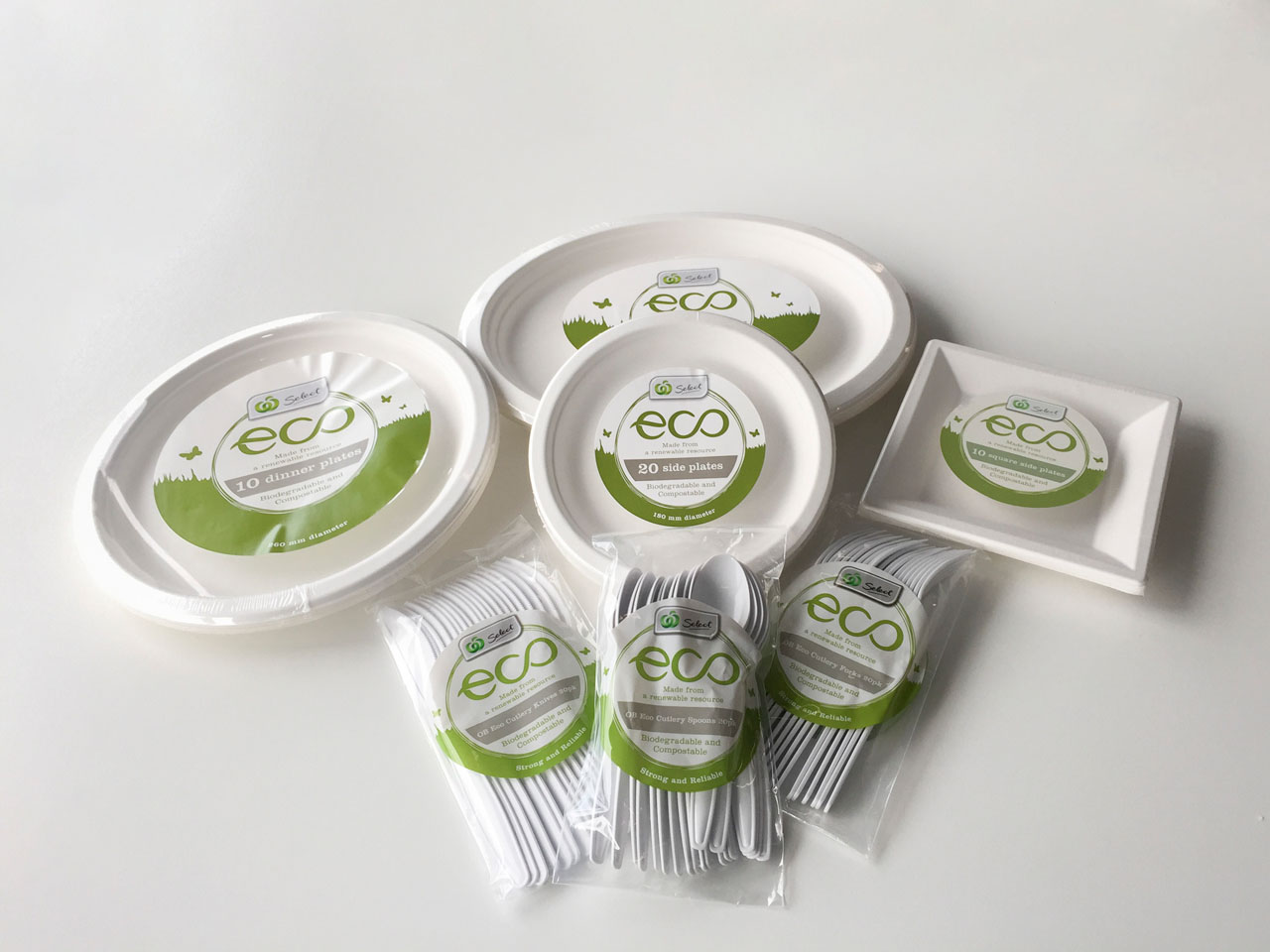 W Select Eco line of picnic products
