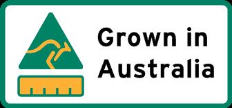 Country of origin Grown in Australia label