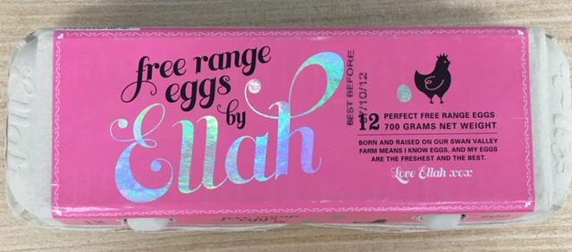 Eggs by Ellah - Carton labelling