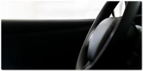 Image of the dashboard of a car