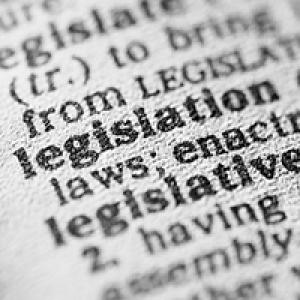 Definition of legislation in dictionary
