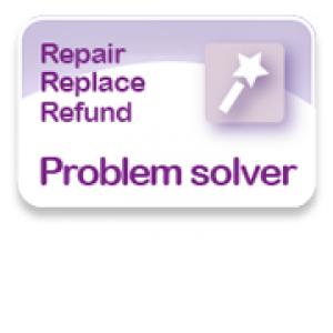 Repair, replace, refund problem solver