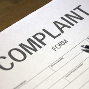 Complaint paperwork