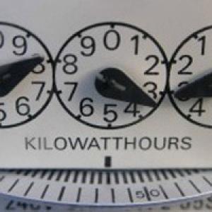 Kilowatt gauge