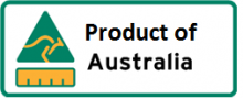 Country of origin Product of Australia label
