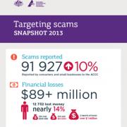 Targeting scams snapshot 2013 inforgraphics