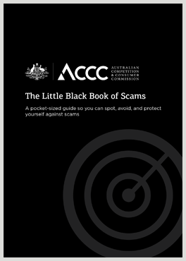 the little black book of scams accc
