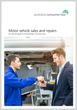 motor vehicle sales repairs an industry guide to the australian