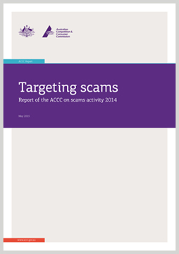 Publications   Scamwatch Targeting scams  report on scam activity