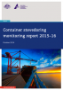 Container stevedoring monitoring report 2015-16
