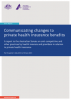 Private health insurance report 2014-15