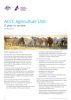 ACCC Agriculture Unit - A year in review