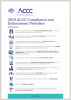 2019 Compliance and Enforcement Priorities