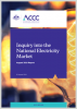 Inquiry into the National Electricity Market - August 2019 Report